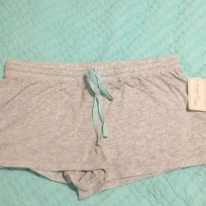 Gray forever 21 pj shorts